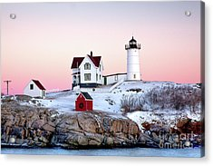 Nubble Glow Acrylic Print by Susan Cole Kelly