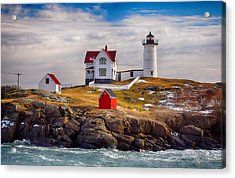 Nubble In Winter Acrylic Print
