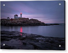 Nubble Light Blue Hour Acrylic Print