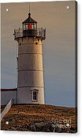 Nubble Light - Cape Neddick, York, Maine. Acrylic Print by Edward Fielding
