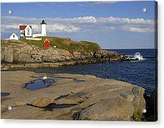 Nubble Light Maine Acrylic Print