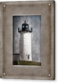 Nubble Light Maine Acrylic Print