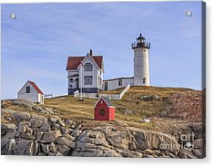Nubble Lighthouse York Maine Acrylic Print