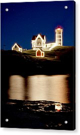 Nubble Stars Acrylic Print by Greg Fortier