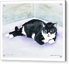 Nubby Acrylic Print by Eileen Hale