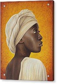 Nubia Acrylic Print by Horacio Cardozo