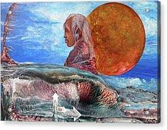 Nubian Dream  Acrylic Print