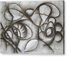 Nucleus Of Time Acrylic Print