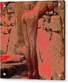 Nude 057 Acrylic Print