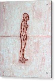 Nude 11 Acrylic Print by Patrick J Murphy