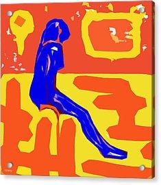 Nude 16 Acrylic Print by Patrick J Murphy