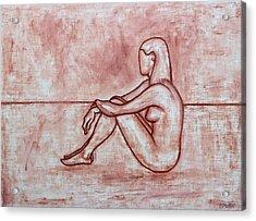Nude 26 Acrylic Print by Patrick J Murphy
