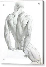 Nude 3 Acrylic Print by Valeriy Mavlo