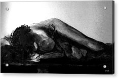 Nude As Landscape Acrylic Print