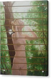 Nude Forest Acrylic Print