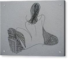 Nude II Acrylic Print