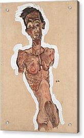 Nude Self-portrait Acrylic Print