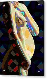 Nude2 Acrylic Print by Scott Davis