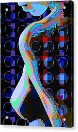 Nude3 Acrylic Print by Scott Davis