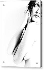 Nudes Bw Acrylic Print by Falko Follert