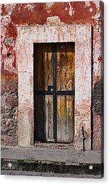 Number 139 San Miguel De Allende Acrylic Print by Carol Leigh