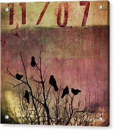 Numbered Acrylic Print