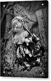 Nun Of Your Business Acrylic Print by Melissa Wyatt