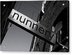 Nunnery 1 Acrylic Print by Jez C Self