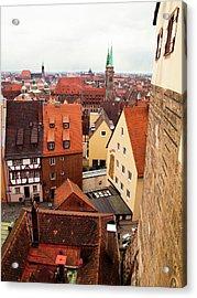 Nuremberg Cityscape Acrylic Print