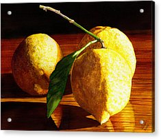 Nurse Beckys Lemons Acrylic Print