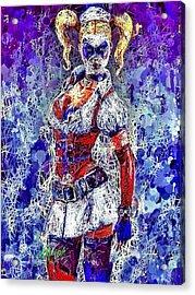 Nurse Harley Quinn Acrylic Print