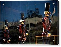 Nutcracker Soldiers 2 Acrylic Print by Steve Ohlsen