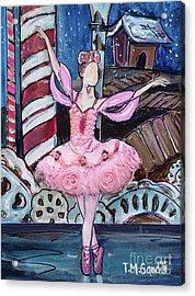 Nutcracker Sugar Plum Fairy Acrylic Print