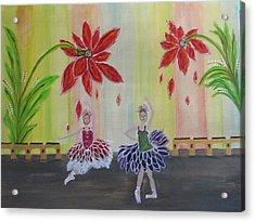 Nutcrackers Waltz Of The Flowers Acrylic Print