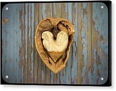 Nutty Love Affair Acrylic Print by Lea Seguin