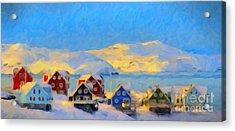 Nuuk, Greenland Acrylic Print