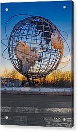 Ny Worlds Fair Unisphere Acrylic Print by Susan Candelario