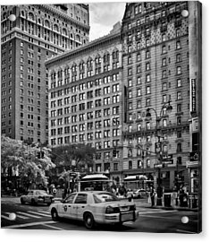 Nyc 6th Avenue Acrylic Print