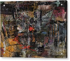 Nyc Abstract Acrylic Print