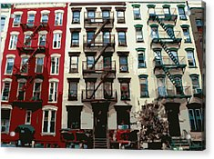 Nyc Apartment Color 16 Acrylic Print