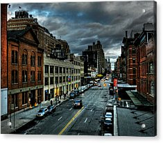 Nyc - High Line - Meatpacking District 002 Acrylic Print by Lance Vaughn