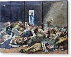Nyc: Homeless, 1874 Acrylic Print by Granger