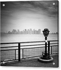 Nyc Manhattan View Acrylic Print