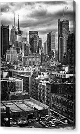 NYC Acrylic Print by Mauricio Jimenez