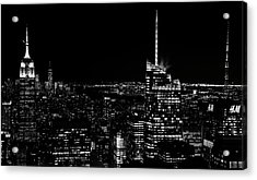 Acrylic Print featuring the photograph Nyc Nights by Rand