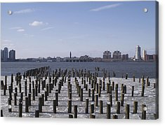 New York City Piers  Acrylic Print