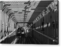 Nyc Subway Acrylic Print by Jessica Stiles
