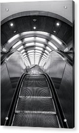 Acrylic Print featuring the photograph Nyc Subway Station by Susan Candelario