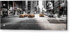 Nyc Taxi Acrylic Print