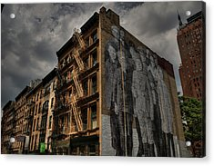 Acrylic Print featuring the photograph Nyc - Tribeca 001 by Lance Vaughn